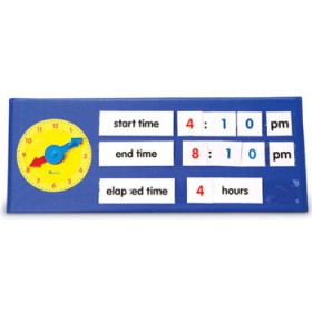Time Tabletop Pocket Chart