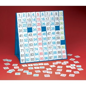 Hundred Board Large Table Top Pocket Chart