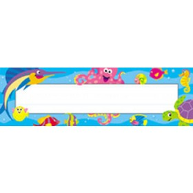 Desk Toppers Under The Sea 36/Pk 2 X 9