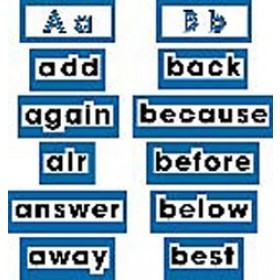 Ww Cards High Frequency Words Level 2