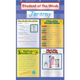 Student Of The Week Pocket Chart Gr K-5
