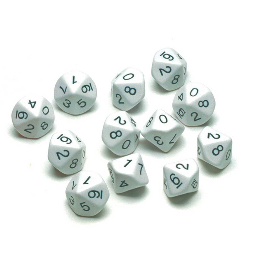 10 sided polyhedra dice games printable