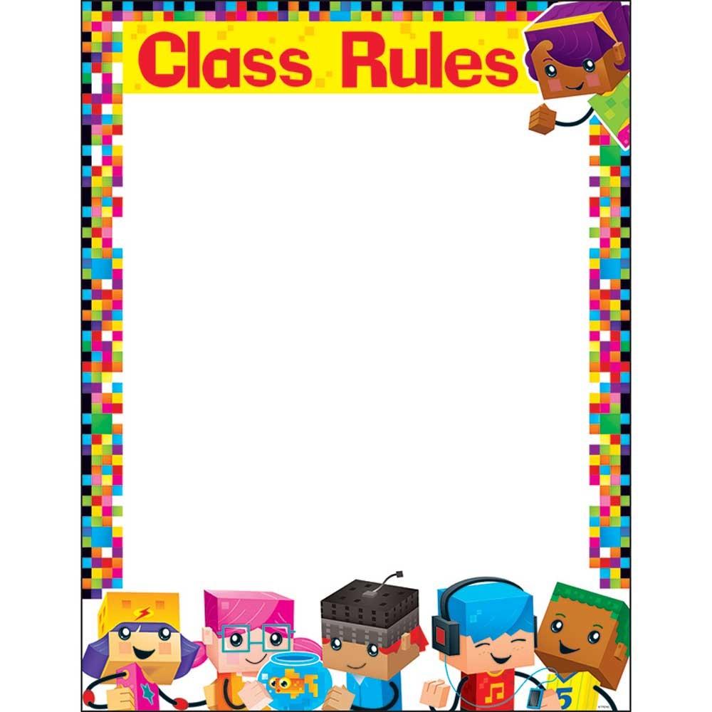 Classroom Rules Design ~ Class rules blockstars learning chart t trend