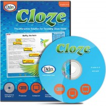 DD-211426 - Cloze Interactive Grades 4 - 6 in Language Arts
