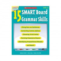 SC-527348 - 15 Smart Board Lessons For Tackling Tough To Teach Grammar Skills in Language Arts