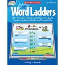 SC-537486 - Daily Word Ladders Gr 1-2 Interactive Whiteboard Activities in Language Arts