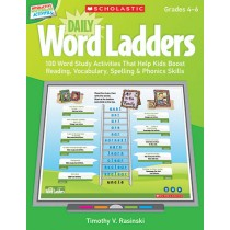 SC-537488 - Daily Word Ladders Gr 4-6 Interactive Whiteboard Activities in Language Arts
