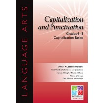 SDL8901 - Capitalization Basics 5 Lessons Gr 4-8 in Language Arts