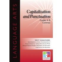 SDL8936 - Commas 5 Lessons Gr 4-8 in Language Arts