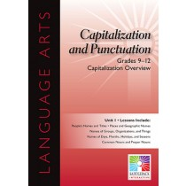 SDL8979 - Capitalization Overview 5 Lessons Gr 9-12 in Language Arts