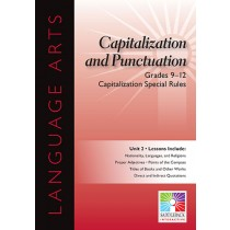 SDL8987 - Capitalization Special Rules 5 Lessons Gr 9-12 in Language Arts