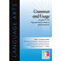 SDL9150 - Agreement Problems And Solutions 5 Lessons Gr 9-12 in Language Arts