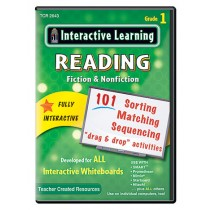 TCR2643 - Interactive Learning Reading Games Gr 1 in Language Arts