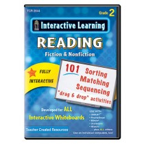 TCR2644 - Interactive Learning Reading Games Gr 2 in Language Arts