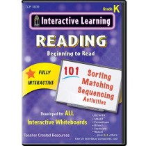 TCR3009 - Interactive Learning Beginning To Read in Language Arts