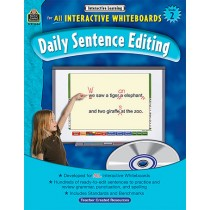 TCR3884 - Interactive Learning Gr 2 Daily Sentence Editing Bk W/Cd in Language Arts