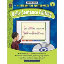 TCR3885 - Interactive Learning Gr 3 Daily Sentence Editing Bk W/Cd in Language Arts