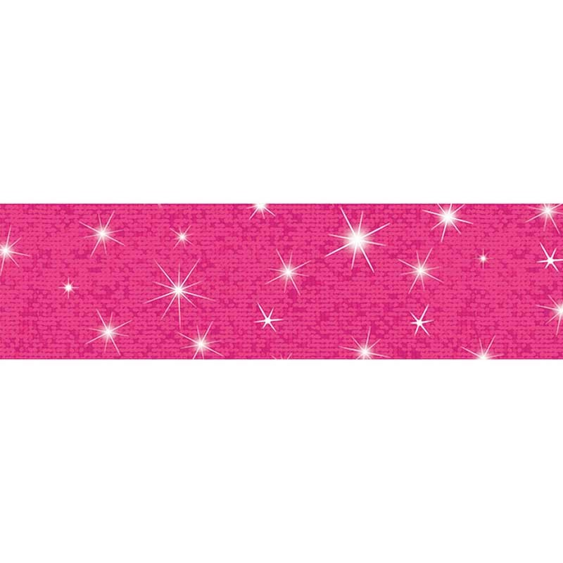Hot Pink Bolder Borders Sparkle - T-85434 | Trend ...
